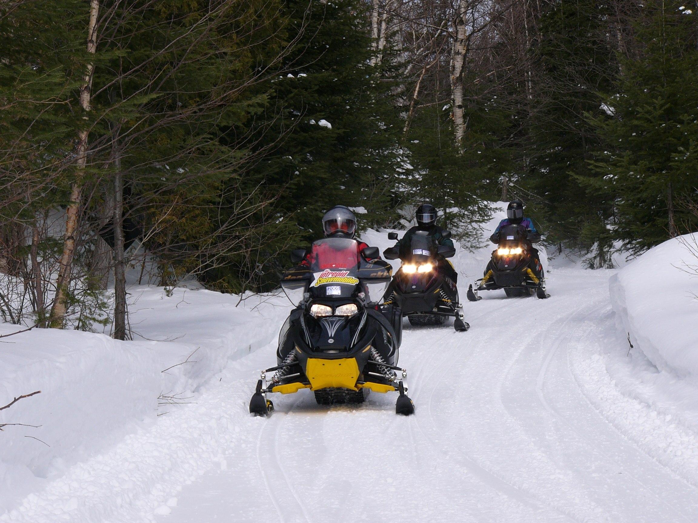Snowmobiling Ontario Canada