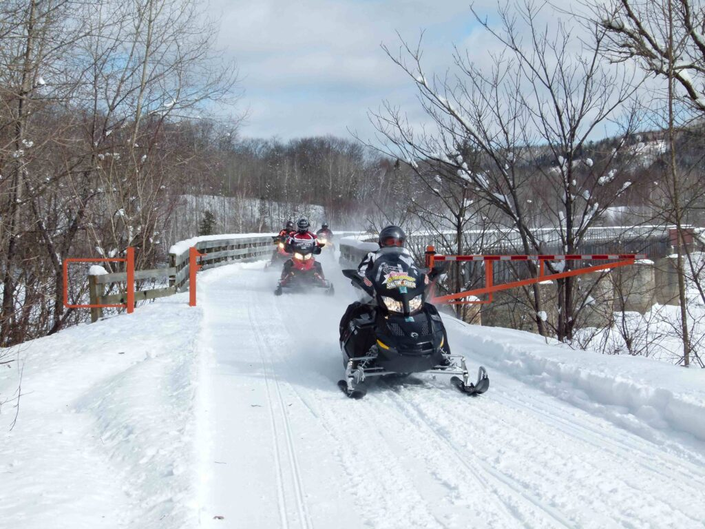 Fractured French Snowmobiling