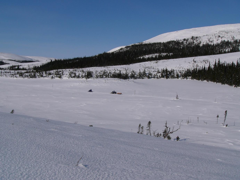 Snowmobile Eastern Labrador Canada Tour