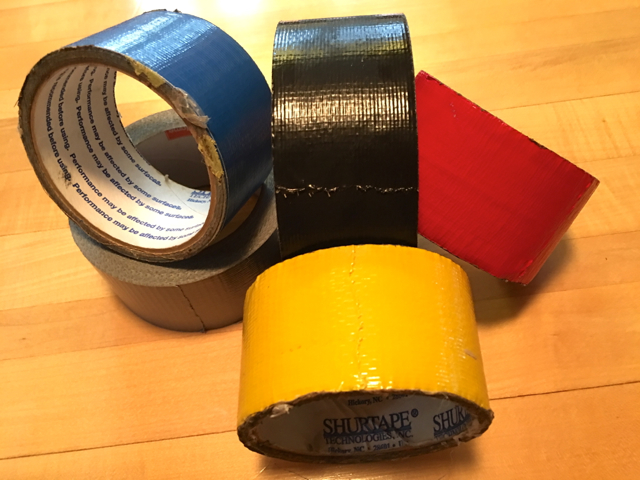 Duct Tape Uses For Snowmobile Tours
