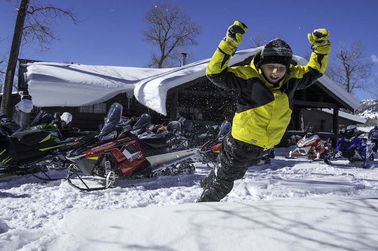 Snowmobiling Rules Top Ten for Trail Riding