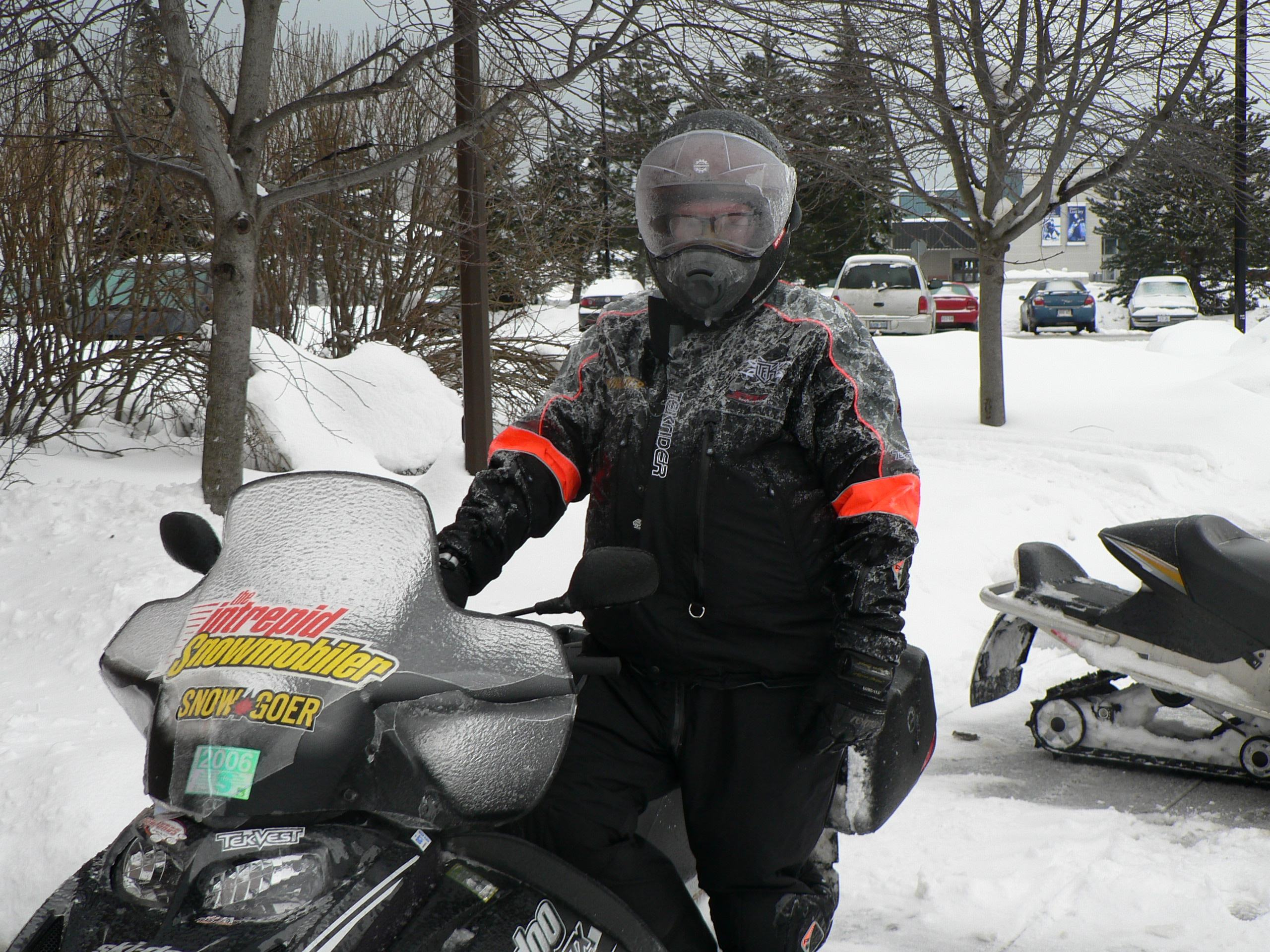 Snowmobile Memories of Canadian Trail Riding