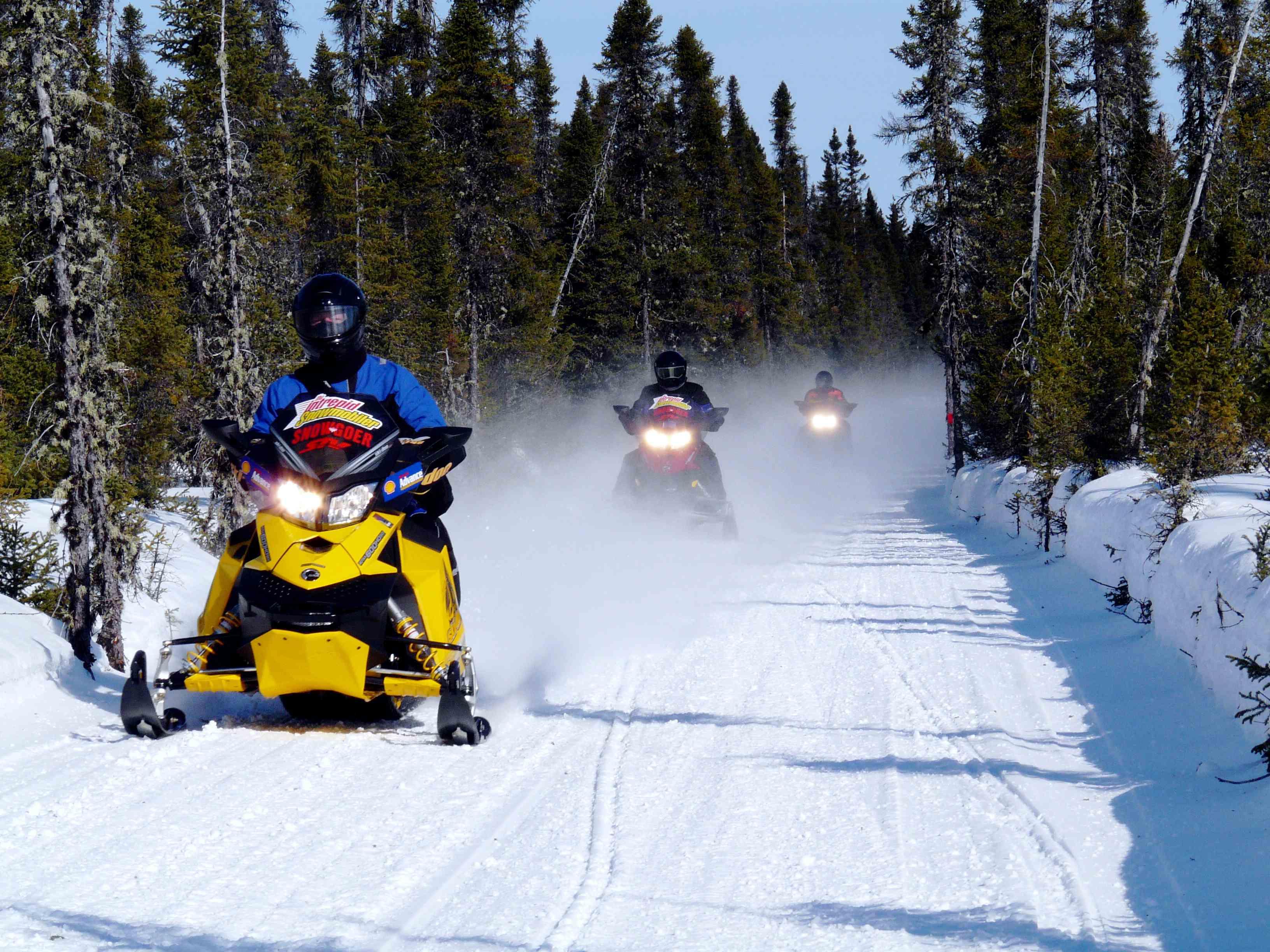 Trail in Abitibi-Témiscamingue Baie-James