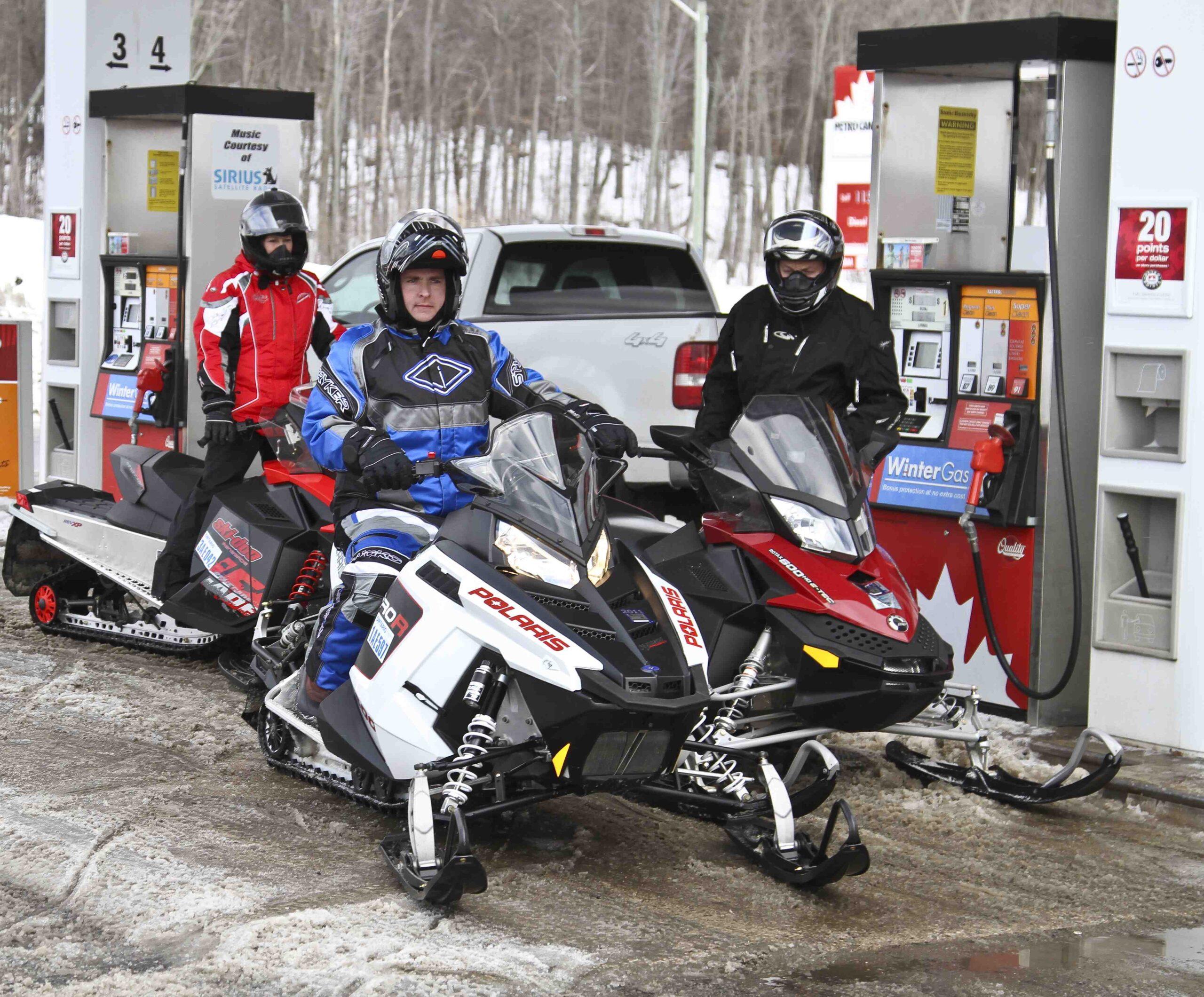 Snowmobile Pavement Riding Tips
