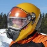 Best Snowmobile Products Wear Ski-Doo BV2S helmet like this.