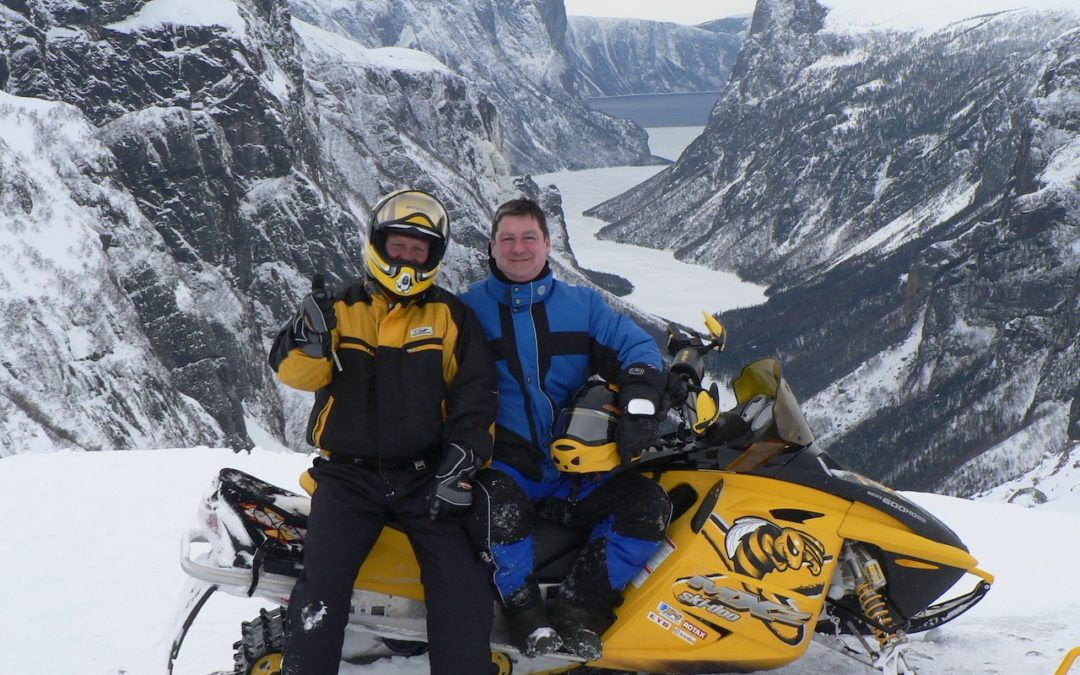 Snowmobile Western Newfoundland Tour