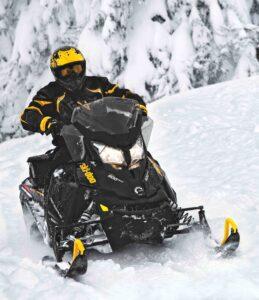 Riding the 2014 Ski Doo Renegade Adrenaline Snowmobile