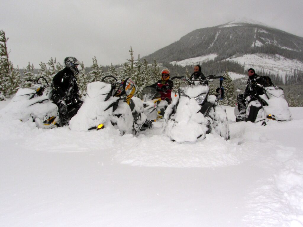 snowmobile crowsnest pass alberta Riding Massive snow