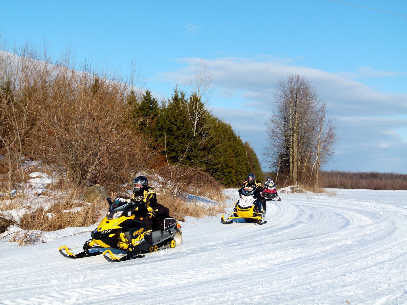 Eastern Ontario Canada Snowmobile Tour