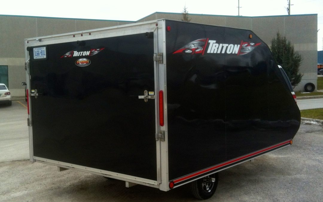 TC118 Snowmobile Trailers Triton Review