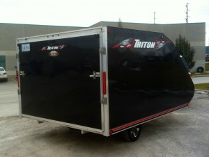 Triton TC118 snowmobile trailers