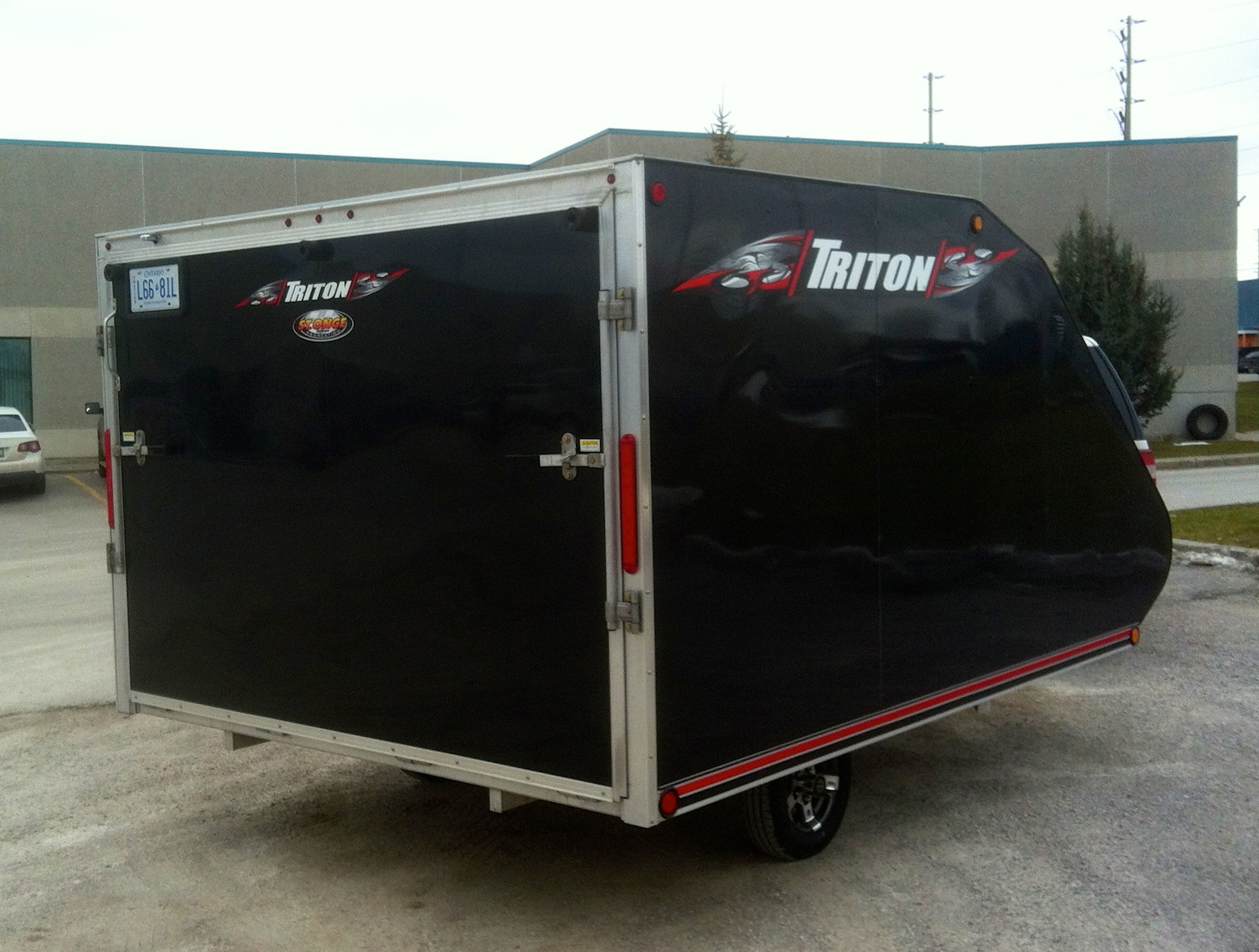 Snowmobile Trailer Triton TC Series Intrepid Snowmobiler Product Review