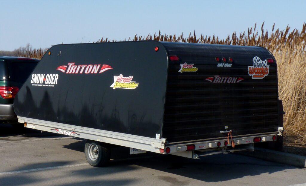 Triton Elite Series Snowmobile trailer