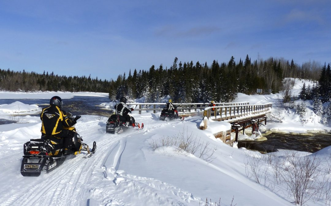Snowmobile Northern Corridor Northeastern Ontario Tour Planner