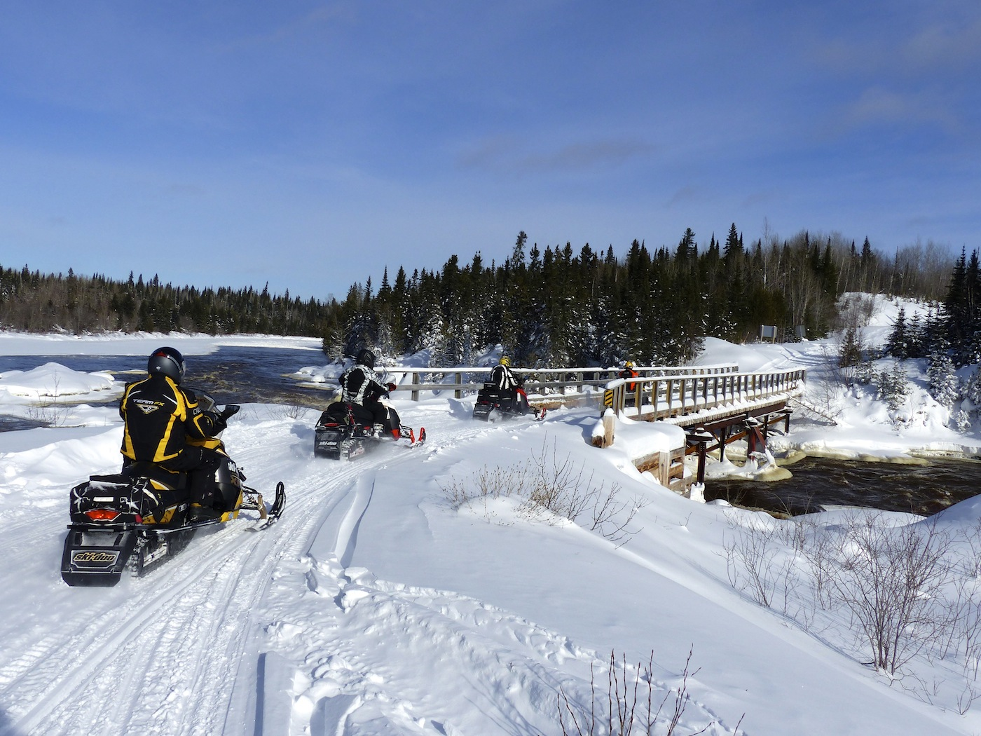 Snowmobile Northern Corridor Northeastern Ontario Tour Planner