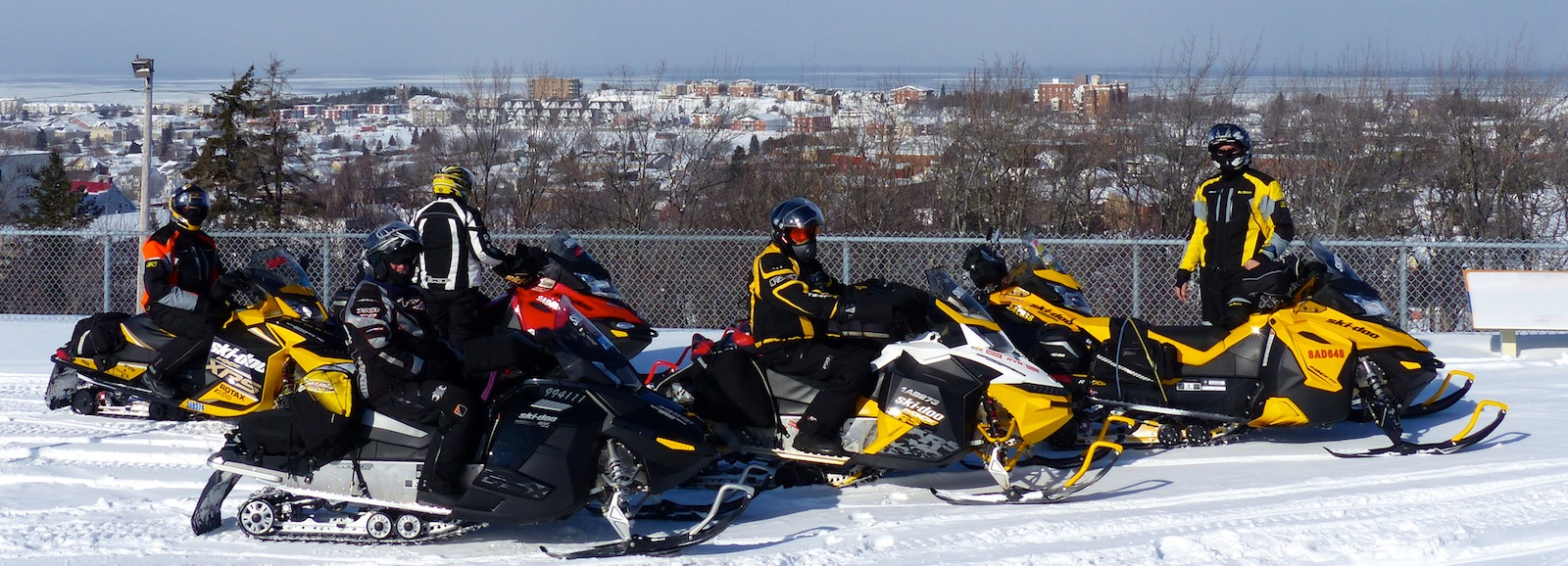 Snowmobile Bas Saint Laurent Quebec Tour