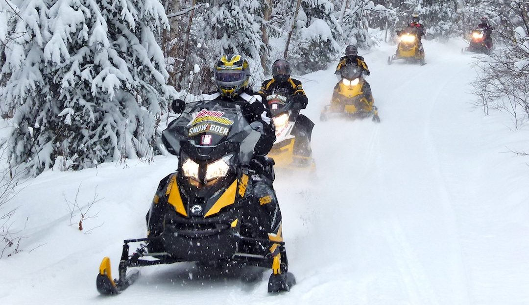 Snowmobiling Near Algonquin Park Ontario Ride Planner