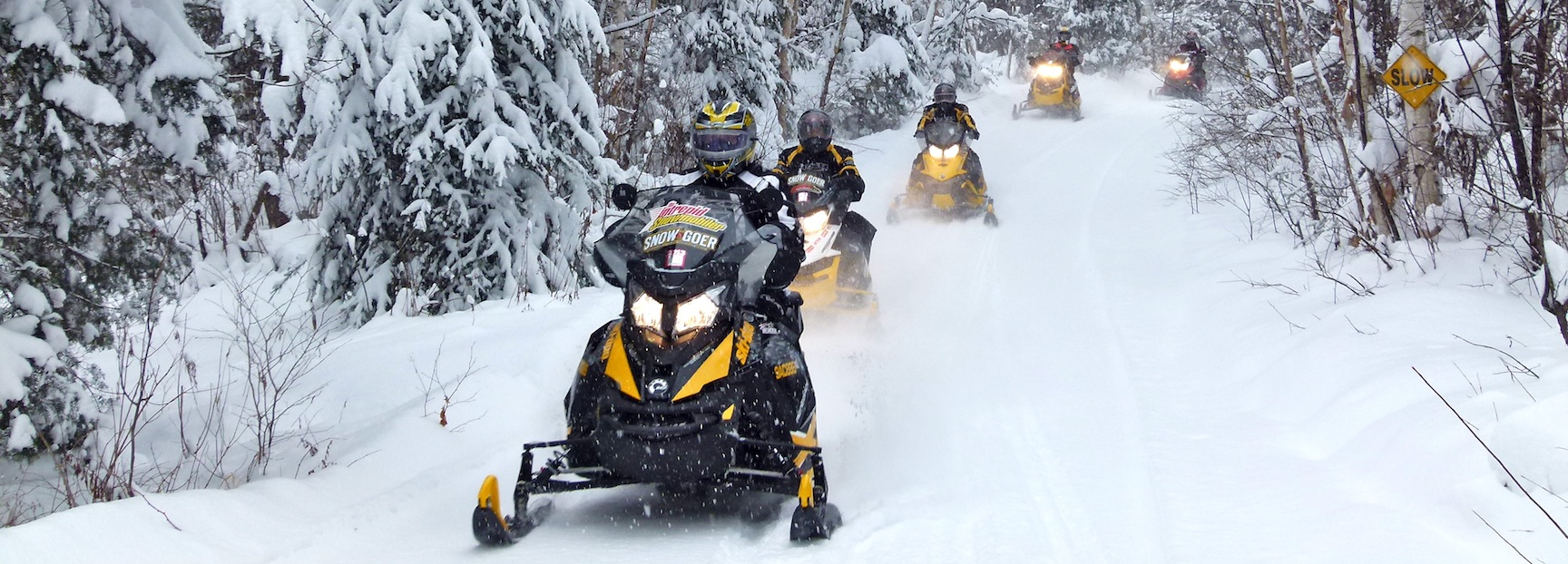 Snowmobiling Near Algonquin Park Ontario