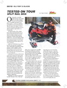 Spilt Rail Skis Product Review