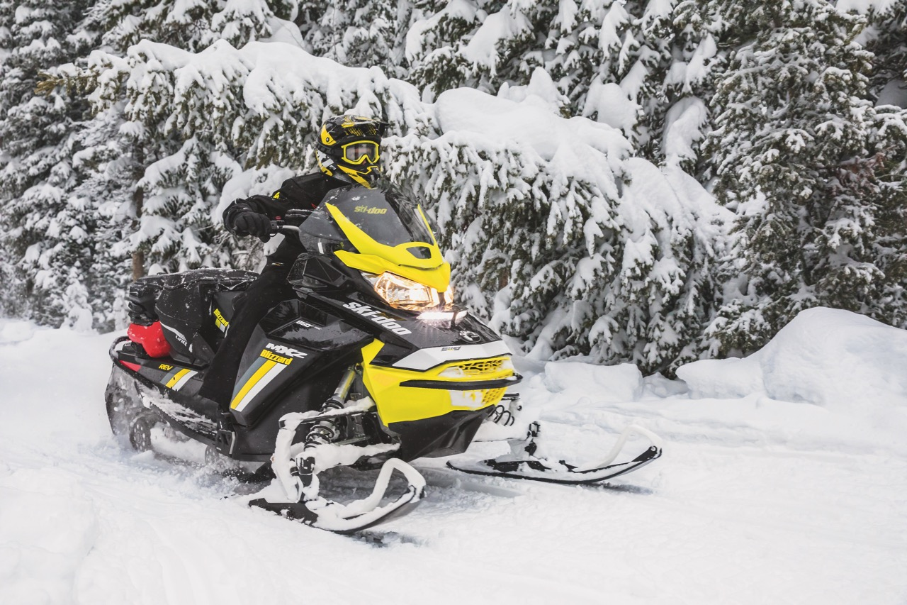 ski-doo LED headlight