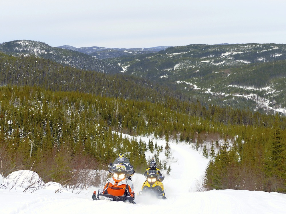 Go Snowmobile Saguenay