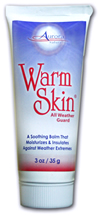 Hot tips for cold hands include Warm Skin cream