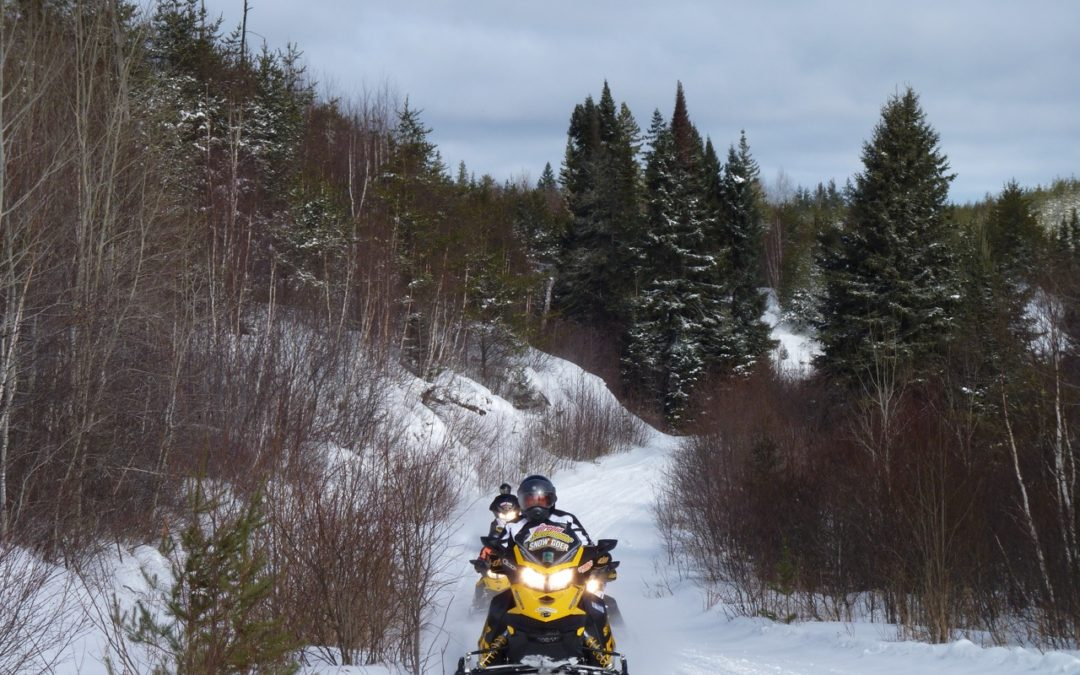 Snowmobile Northeastern Ontario Canada Planning Tools