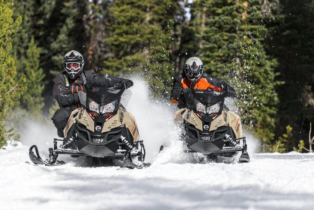 Ski Doo Renegade Enduro on trail