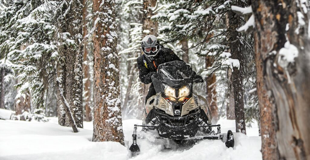 Ski Doo Renegade Enduro off trail