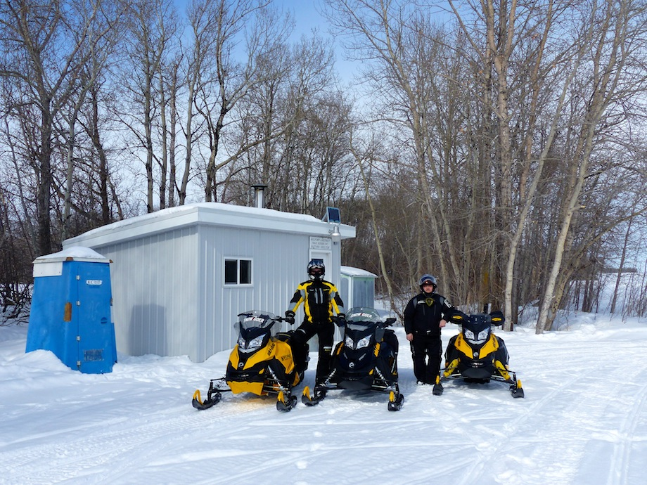 snowmobile eastern saskatchewan Shelter