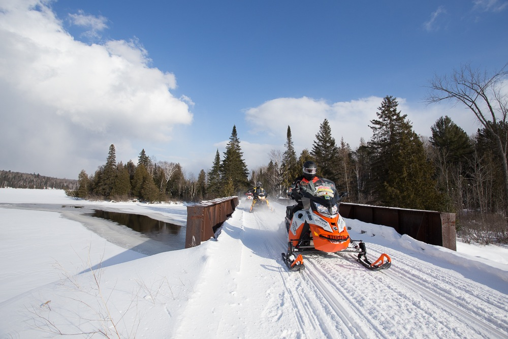 bancroft area snowmobile tour