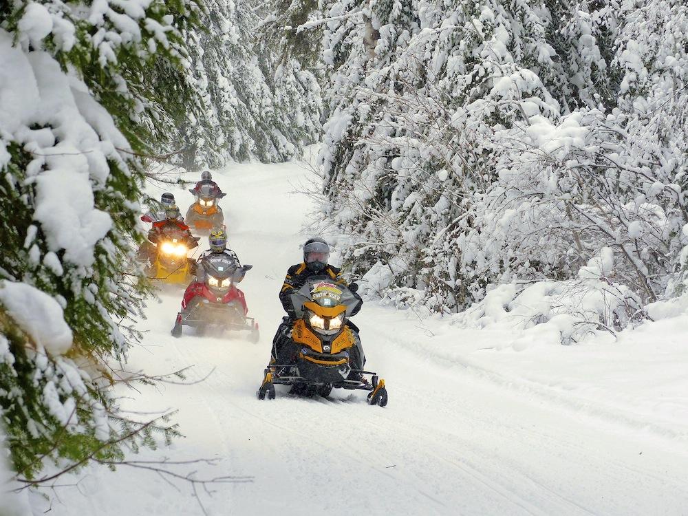 snowmobile northeastern ontarioloops - Chiniguchi