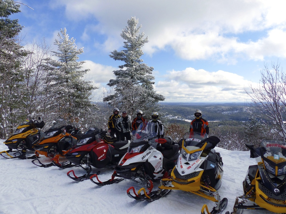 snowmobile northeastern ontario loops - Wolf Mtn