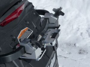quick connect removable snowmobile hitch