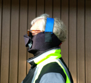 No Fog mask for best visor anti-fogging