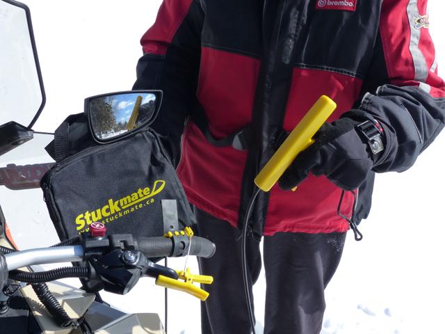 Stuckmate Helps Snowmobilers Get Sleds Unstuck