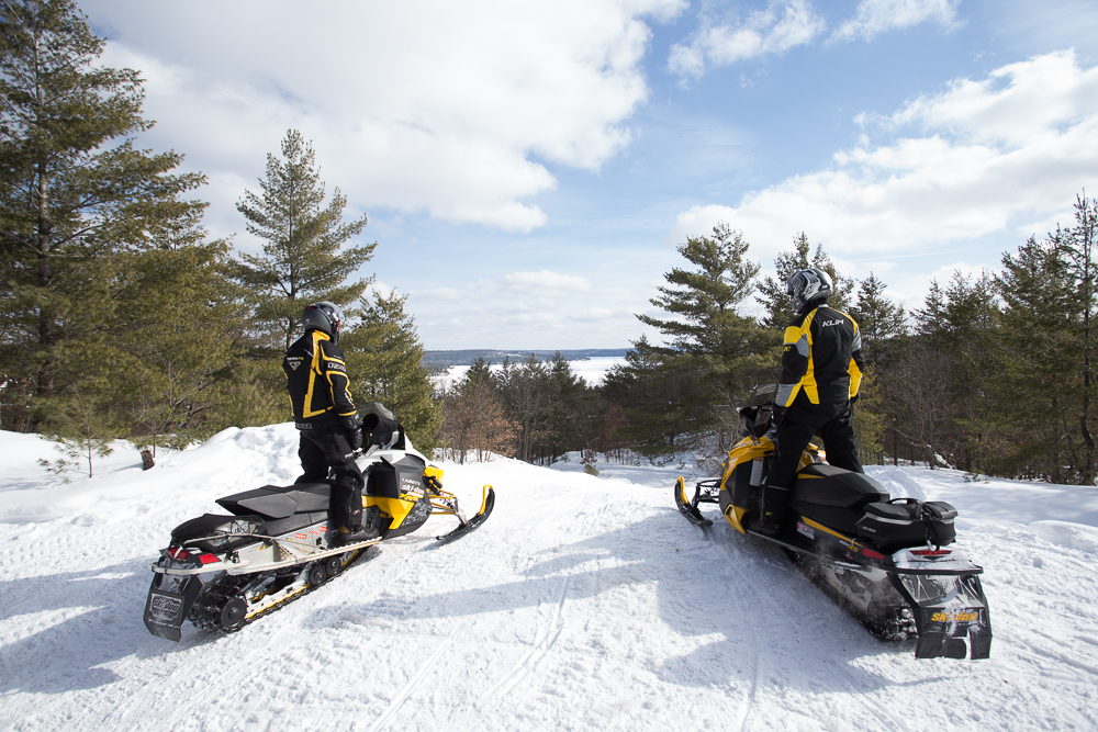 Snowmobile Bancroft Ontario Tour