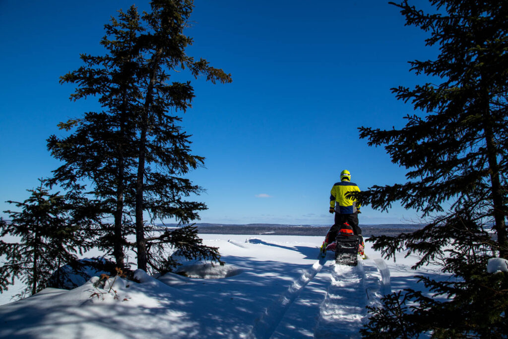 Access fantastic scenery while backcountry riding