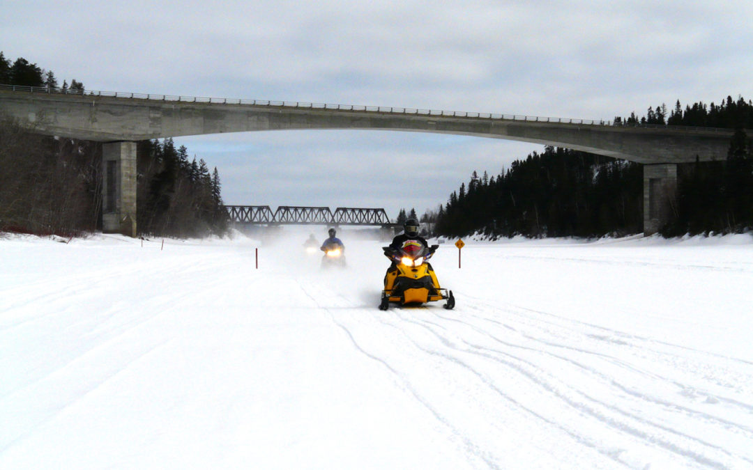 Snowmobiling Ice Safety Tips