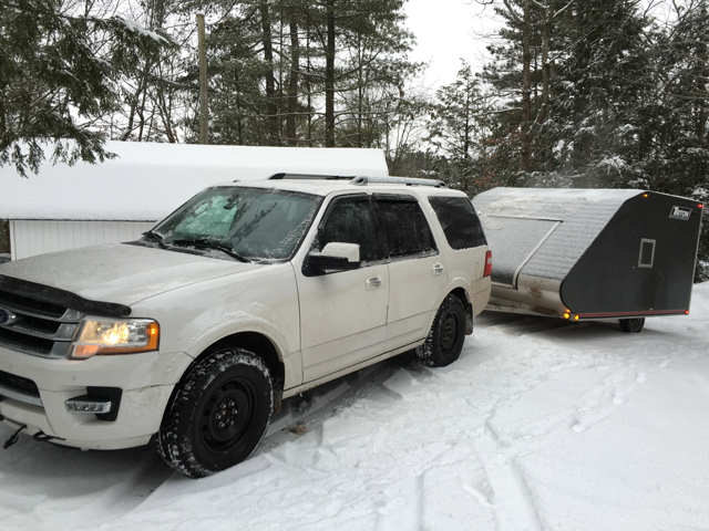 Tow Vehicle Winter Tires For Snowmobilers