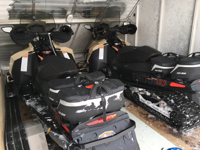 prepping snowmobile tips for winter includes your trailer