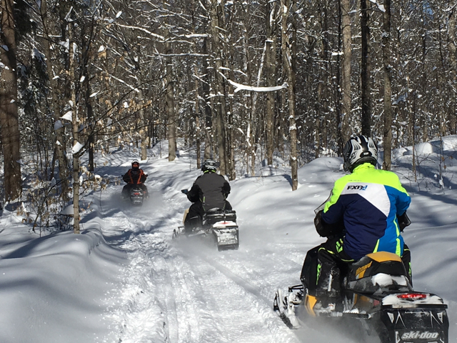 snowmobile friendly accommodations