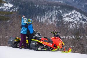 american snowmobilers visit ontario