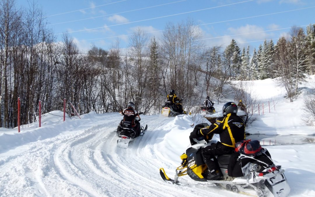 Quebec Snowmobile Destination Tour