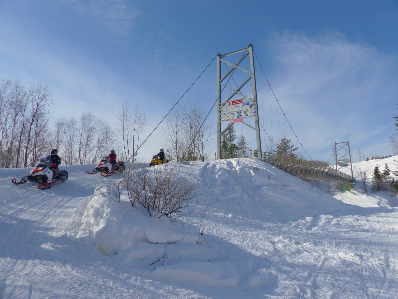 Snowmobile Quebec Charlevoix Tour