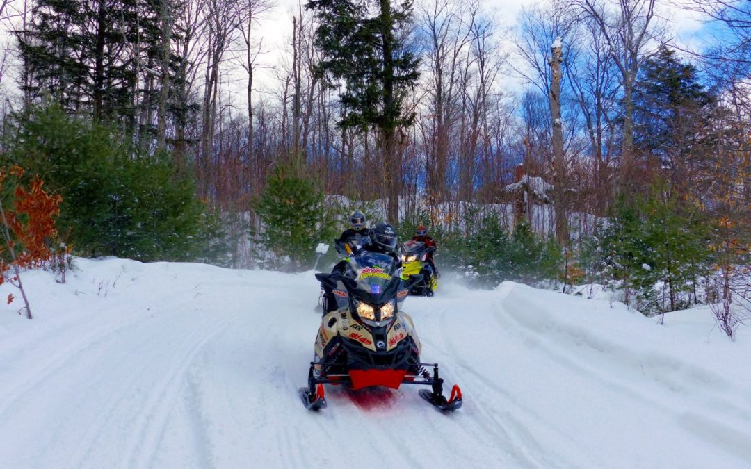Haliburton Highlands Ontario Snowmobiling