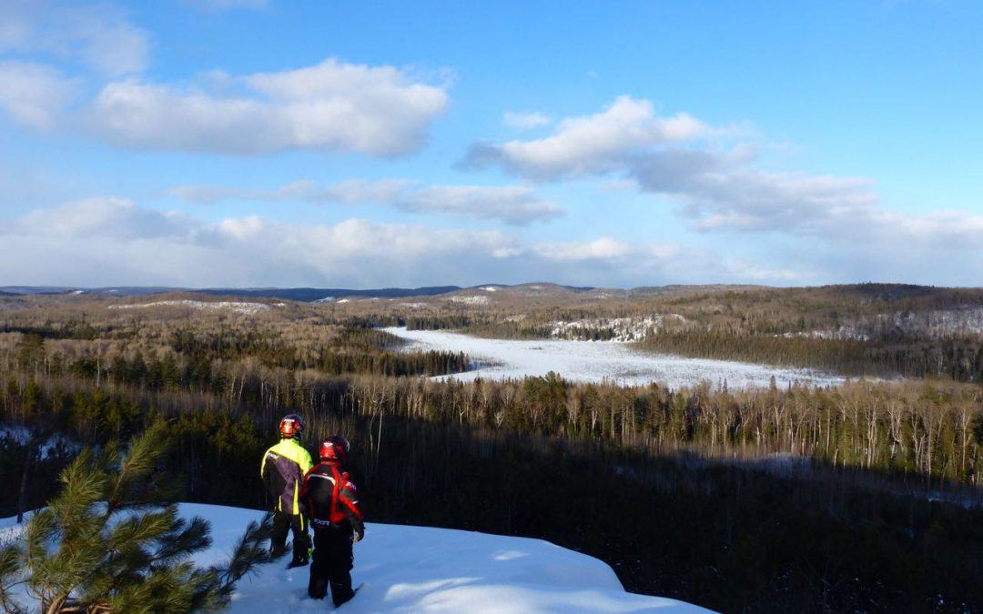 Barry's Bay Ontario Snowmobiling
