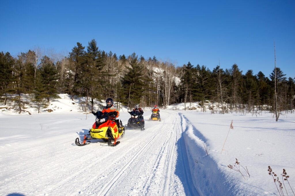 snowmobile rap tour