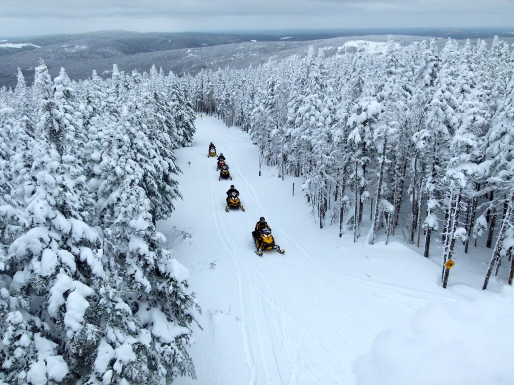 Buying a Quebec Annual Trail Permit gets you scenery like this!