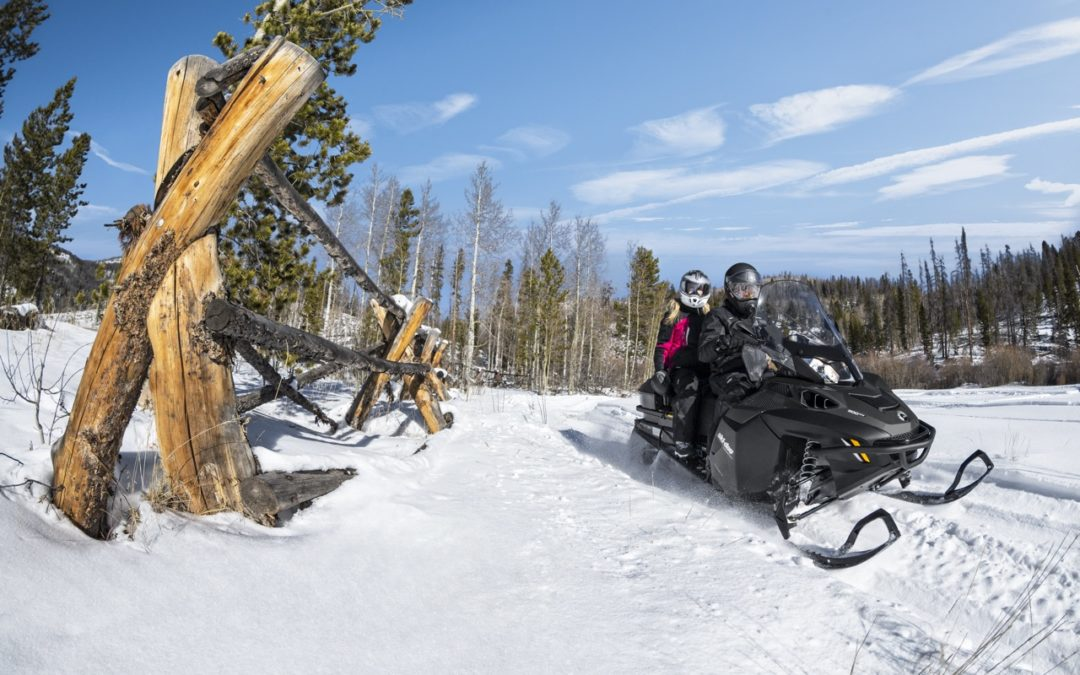 Tips For Snowmobiling Double With A Passenger